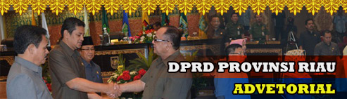 Advetorial DPRD Riau